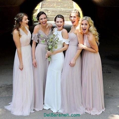 لباس ساقدوش عروس (۳۰)