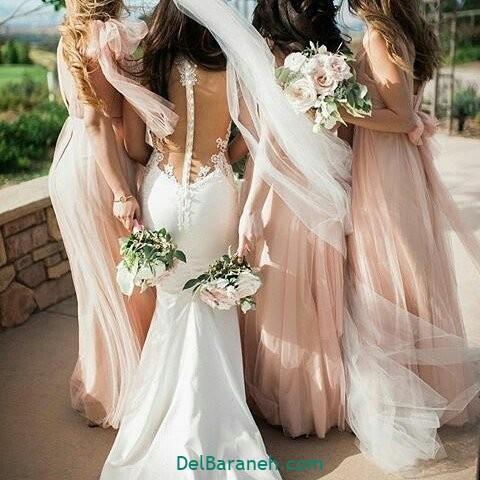 لباس ساقدوش عروس (۳۱)