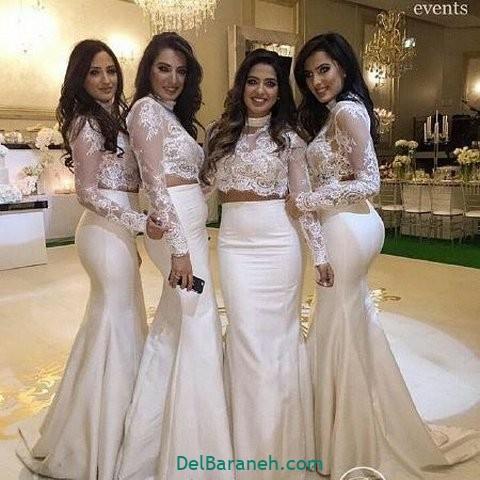 لباس ساقدوش عروس (۳۳)