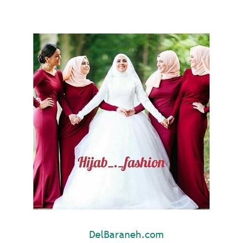 لباس ساقدوش عروس (۳۶)