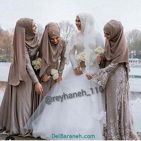لباس ساقدوش عروس (۳۸)
