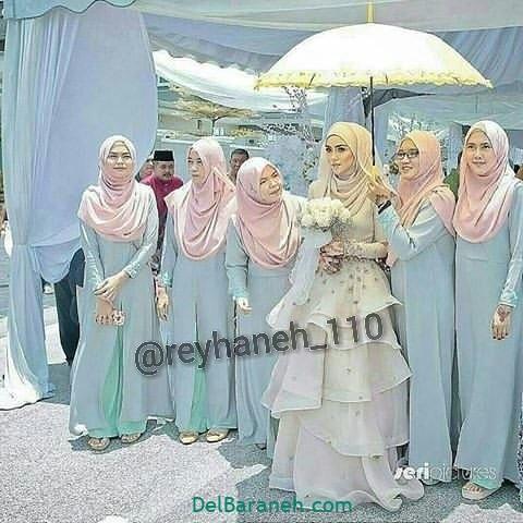 لباس ساقدوش عروس (۴۰)