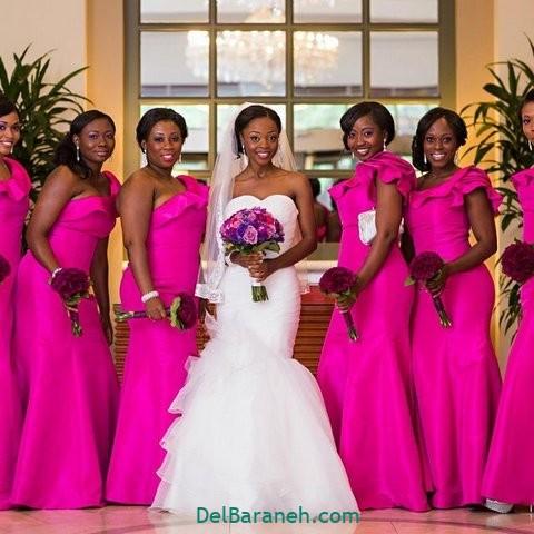 لباس ساقدوش عروس (۶)