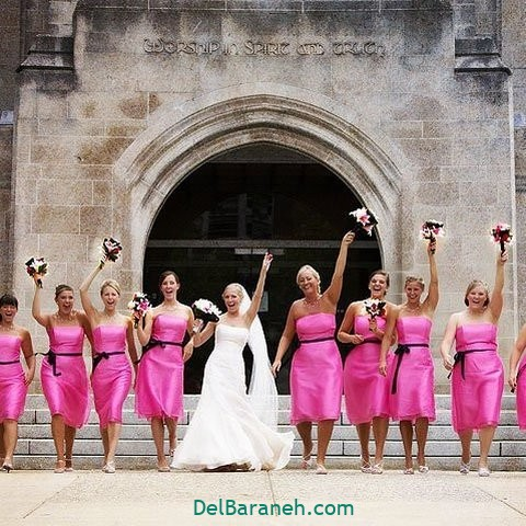 لباس ساقدوش عروس (۷)