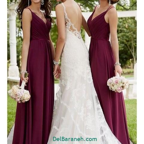لباس ساقدوش عروس (۸)