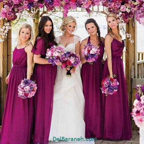 لباس ساقدوش عروس (۹)