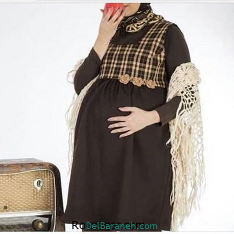 مدل مانتو بارداری سارافون