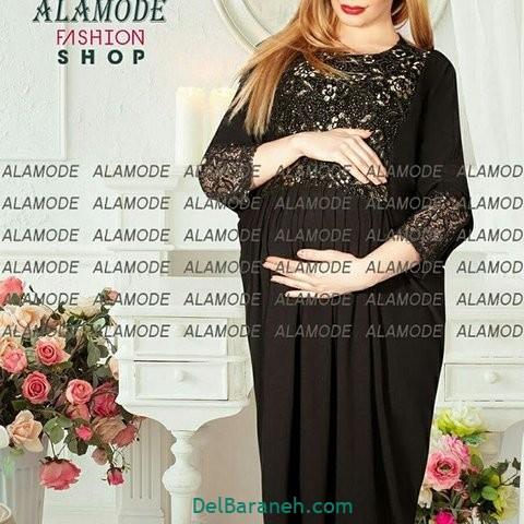 مدل مانتو بارداری مجلسی
