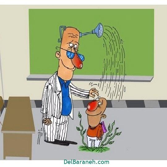 نقاشی روز معلم کاریکاتور (۱۵)