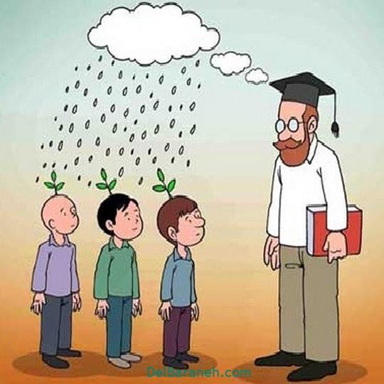 نقاشی روز معلم کاریکاتور (۲۴)