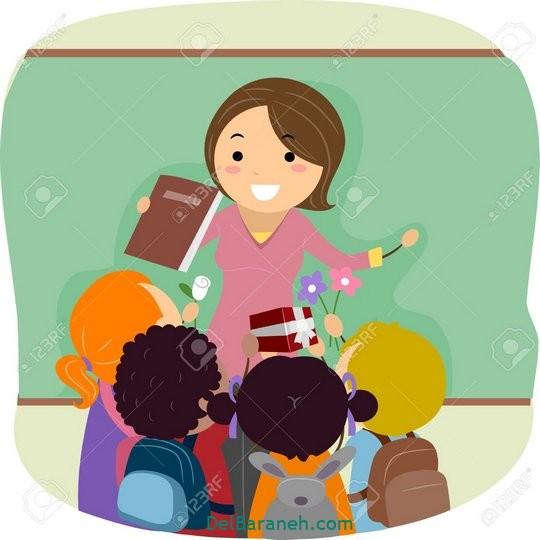 نقاشی روز معلم (۴۲)