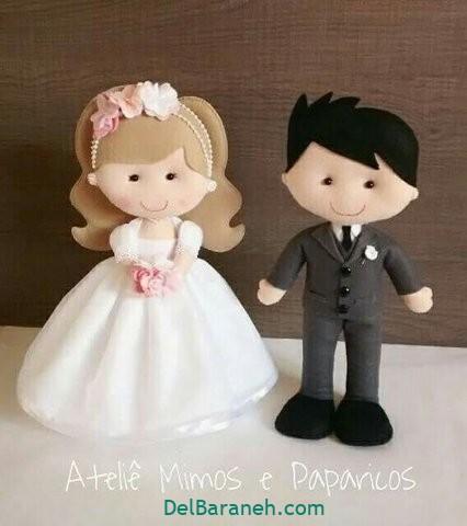 عروس داماد نمدی