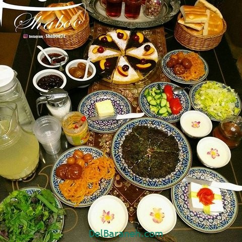 تزیین افطار (۱)