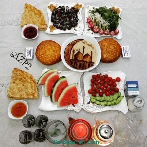تزیین افطار (۱۷)