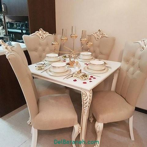 تزیین میز ناهار خوری عروس (۰)