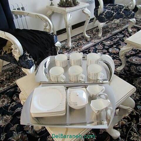 تزیین میز ناهار خوری عروس (۱۱)