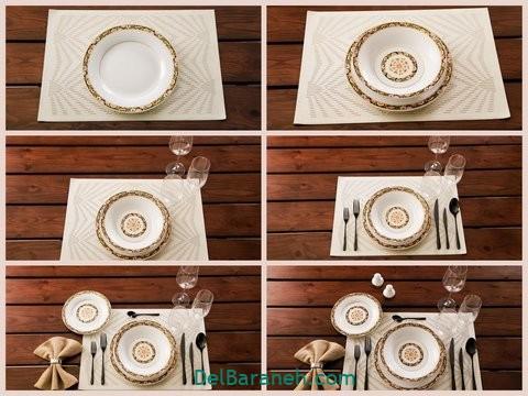 تزیین میز ناهار خوری عروس (۲)