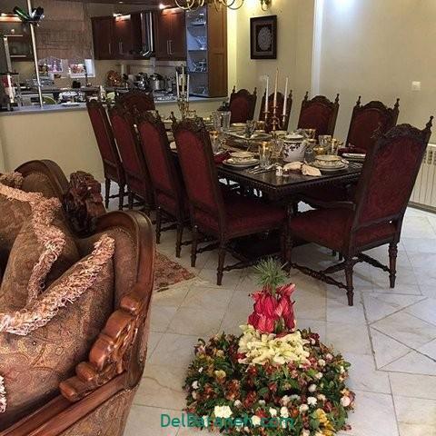 تزیین میز ناهار خوری عروس (۲۵)
