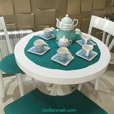 تزیین میز ناهار خوری عروس (۳۲)