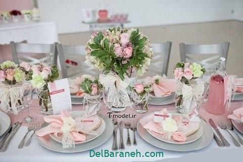 تزیین میز ناهار خوری عروس (۳۷)