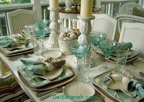 تزیین میز ناهار خوری عروس (۳۹)