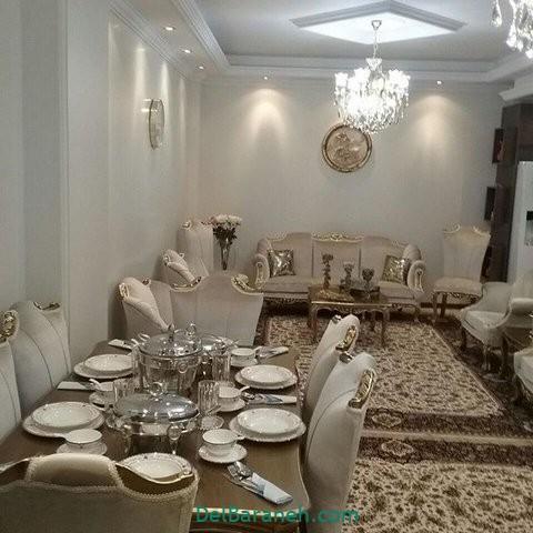 تزیین میز ناهار خوری عروس (۵)
