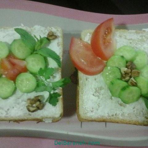 تزیین نون و پنیر افطار عقد (۱۰)