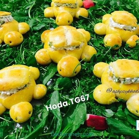 تزیین نون و پنیر افطار عقد (۱۵)