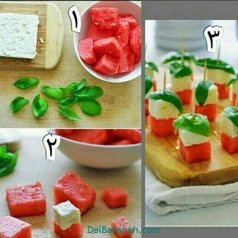 تزیین نون و پنیر افطار عقد (۲)