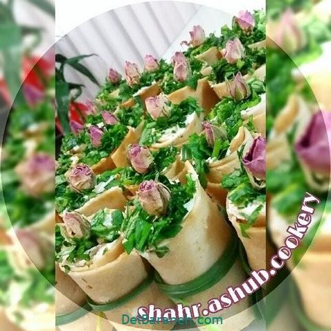 تزیین نون و پنیر افطار عقد (۳۰)