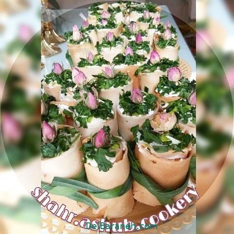 تزیین نون و پنیر افطار عقد (۳۲)