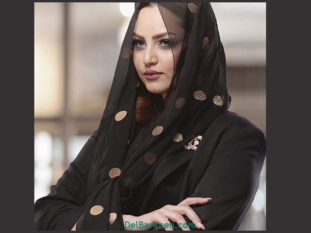 مدل جدید شال مشکی مجلسی