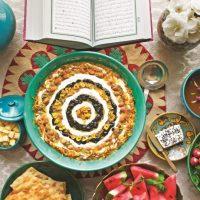 عکس سفره افطار | ۳۰ عکس زیبا و دلنشین از تزیین سفره افطاری ایرانی