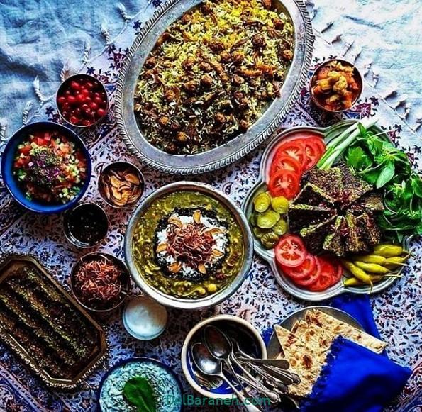عکس سفره افطار (۷)