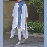مانتو تابستانه | ۵۰ مدل مانتو جلو باز تابستانی برند CooCooz