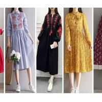 مانتو نخی خنک | ۳۵ مدل مانتو دخترانه نخی رنگی رنگی  برای تابستان