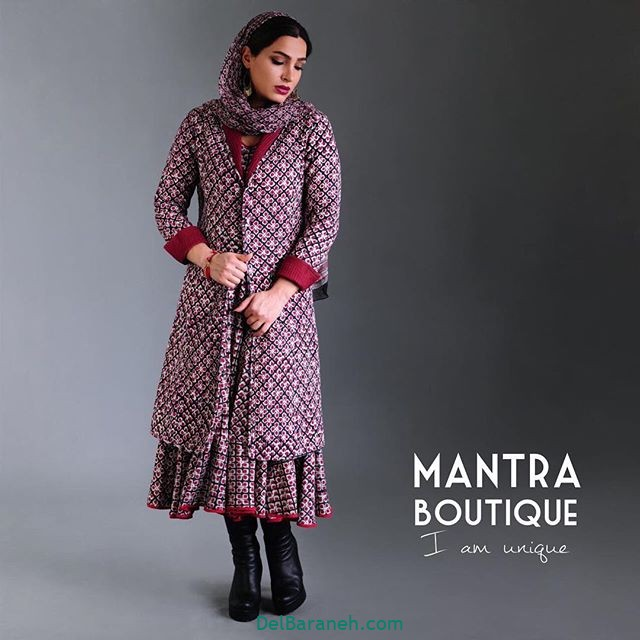 مانتو پیراهنی گلدار (۱۳)