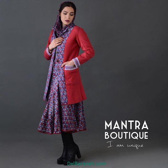 مانتو پیراهنی گلدار (۱۵)