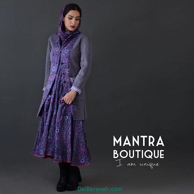 مانتو پیراهنی گلدار (۱۷)