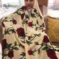 چادر خواستگاری و بله برون عروس | ۲۲ مدل چادر زیبا برای عروس خانم