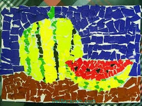کاردستی با کاغذ رنگی (۱۳)