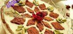 تزیین شیر برنج | ۲۵ مدل تزیین شیر برنج مجلسی با گل محمدی دارچین زعفران