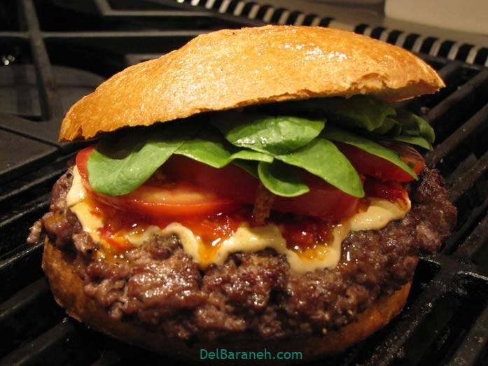 آموزش طرز تهیه همبرگر مخصوص خوشمزه خانگی و زغالی