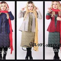 کت و سارافون | ۴۰ مدل سارافون به همراه کت سنتی دخترانه