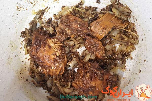 آموزش طرز تهیه خورشت فسنجان با مرغ خوشمزه