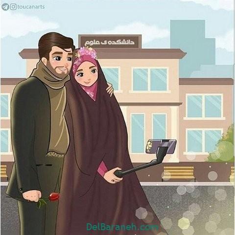عکس عاشقانه همسر (۳۲)