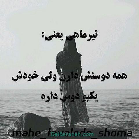 عکس نوشته تیر ماهی (۷)