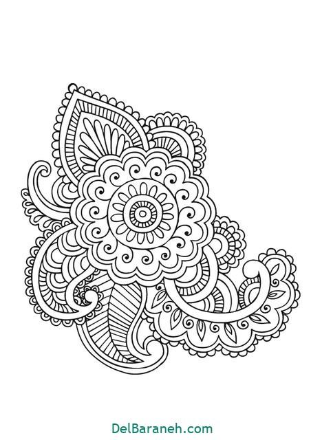 ماندالا (۲)  ماندالا | ۴۰ طرح ماندالا (نقاشی درمانی ) از مبتدی تا پیشرفته