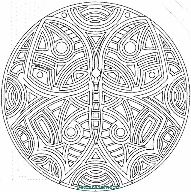 Free Mandala Coloring Pages For Adults Az Coloring Pages coloring pages for adults mandala Yw8