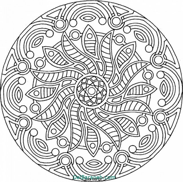 Printable Adult free coloring pages for adults dami8